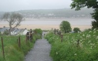 Walking In Llansteffan