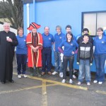 mayor + staff + vicar who blessed chip van!!