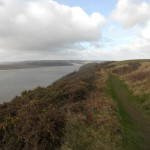 path to laugharne