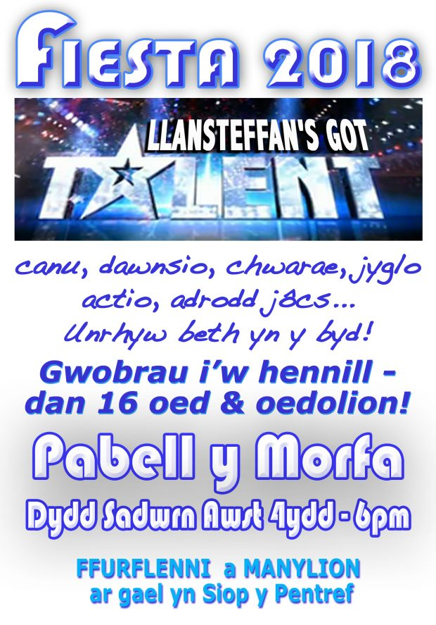Cym. Llansteffan's Got Talent 18