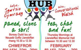 Hub Poster Chwefror
