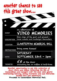 PM Video Memories Poster