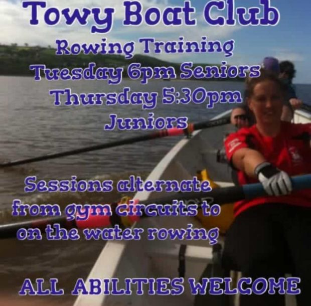 Towy Rowing